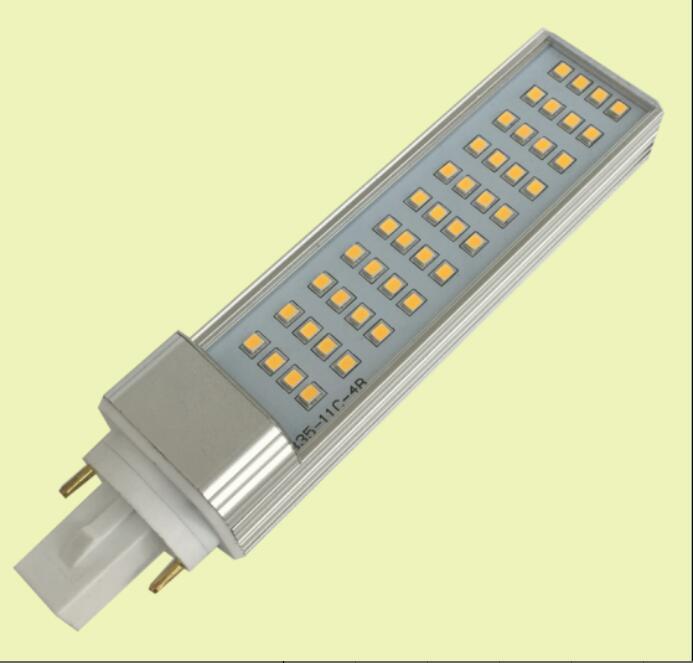 Free Shipping Hot Sell 100pcs/lot 9w Horizontal Plug lights <font><b>led</b></font> lamp E27 G24 <font><b>G23</b></font> <font><b>LED</b></font> PL light 10W SMD2835 <font><b>leds</b></font> AC85-265V