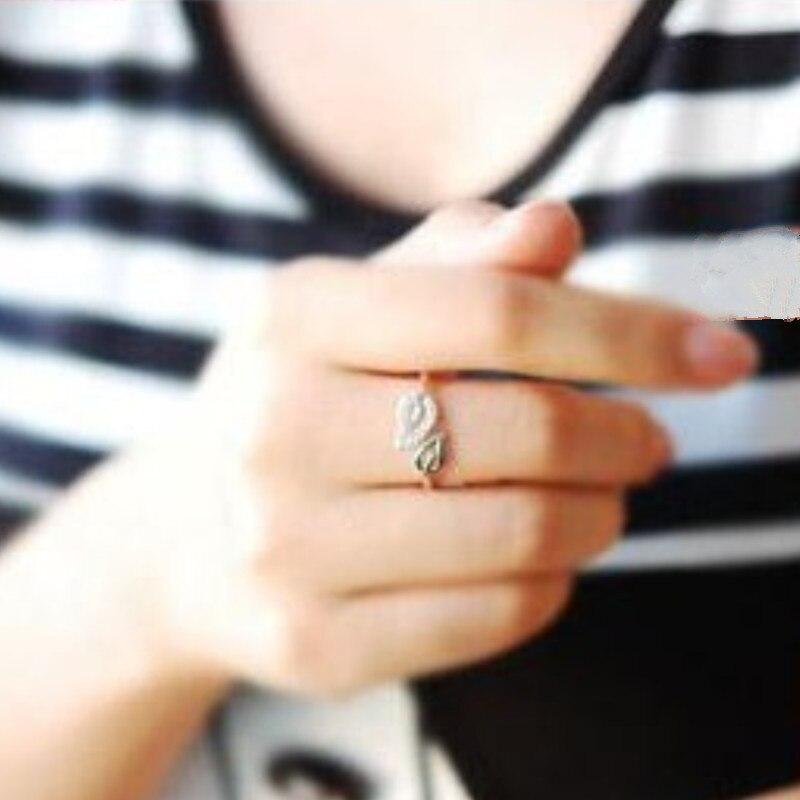 Индивидуальные вечерние Подарочные Кольца с блестящими яркими элементами для женщин, влюбленных, открытые кольца, хит, nj3