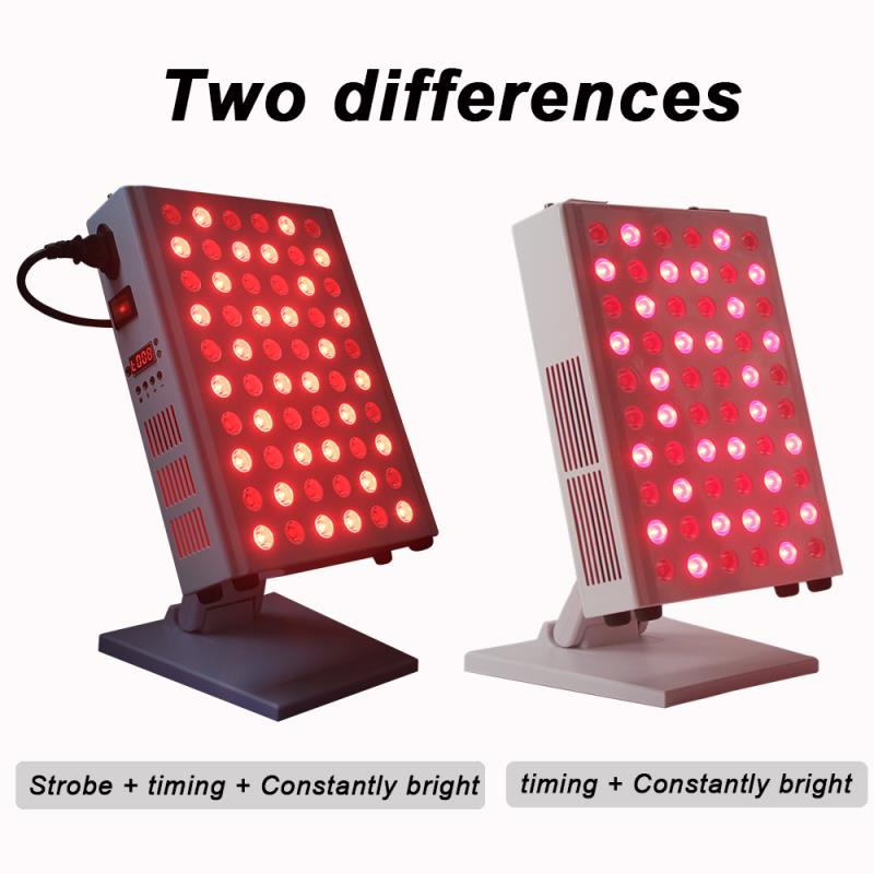 LED Red Light Treatment Panel TL100B Flashing 660nm 850nm Phototherapy Led Red Light Physiotherapy Machine To Relax Skin