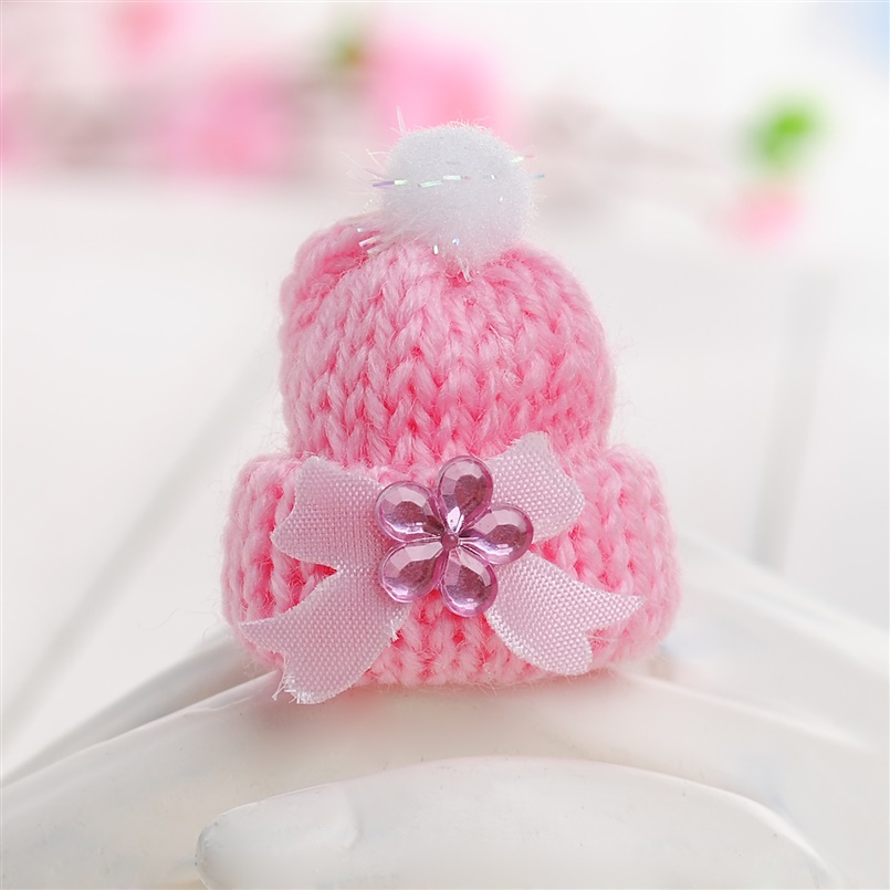 Miniature Vintage Knit Doll Head Supply Small Doll Winter Ski Hat Pink Or  Blue Baby Shower Favors 6pcs In Party Hats From Home U0026 Garden On  Aliexpress.com ...