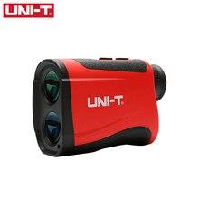 Laser rangefinder lm600 para golfe UNI-T, telescópio medidor de distância, ângulo de altitude