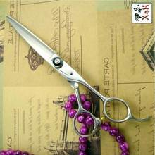 6 5 inch big thumb excellent quality Japanese 440C professional hairdressing cutting scissors shears