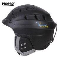 ProPro Termal kayak kask Unisex motosiklet yarım-kaplı capacetes de motociclista Spor güvenlik kap kaykay koruyucu kask