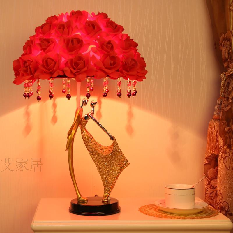 Творческие свадебные подарки настольные лампы свадьба комната спальня ночники BESTIE Пара Декоративные стол свет za920502