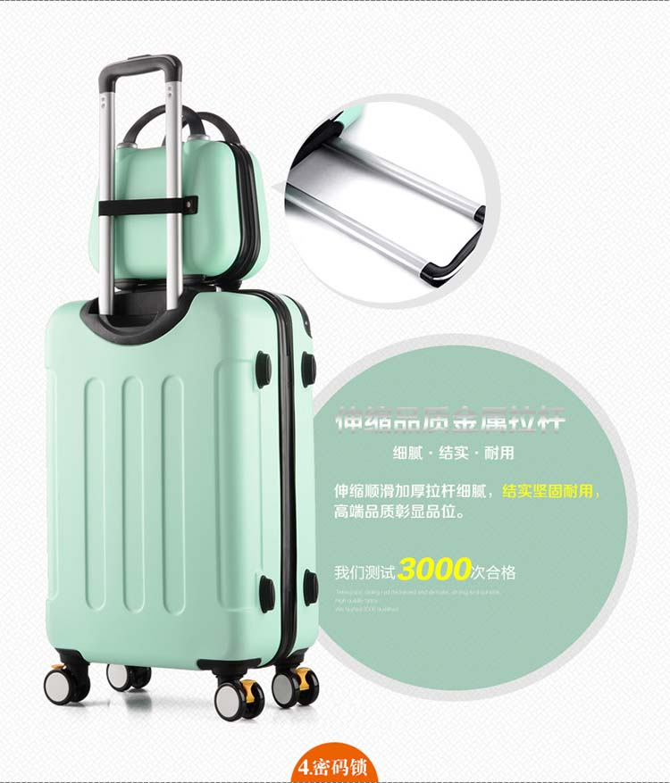 Дорожный Чехол для чемодана на колесиках 20 дюймов, чехол на колесиках, женский косметический чехол, сумка для переноски, дорожные сумки
