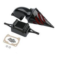 Комплекты воздухоочистителя Спайк Впускной фильтр Blcack для мотоцикла Yamaha Roadstar XV1700PC Warrior 02 10