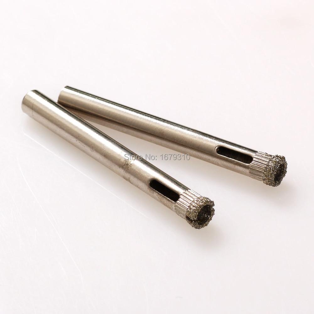 10vnt. 4 mm – 12 mm deimantinio stiklo šerdies gręžimo įrankio - Grąžtas - Nuotrauka 2