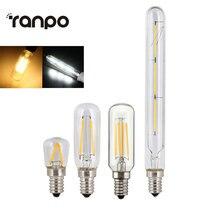 레트로 에디슨 전구 E14 T20 T25 T26 2W 3W 4W Led 램프 촛불 필 라 멘 트 에너지 절약 유리 전구 Lampada 홈 조명