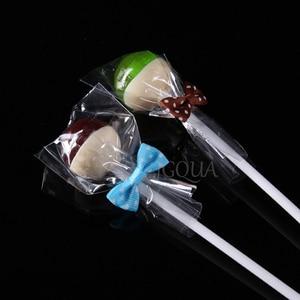 Image 3 - ברור פתוח למעלה פלסטיק שקיות קוקי סוכריות צעצוע תכשיטי מזון אריזת תיק חג המולד מסיבת יום הולדת DIY פאוץ פולי OPP מתנת תיק