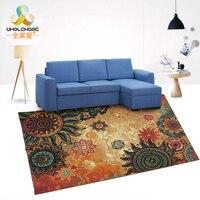 1PCS European Style 100 150cm Large Carpet Anti Slip Rectangular Living Room Sofa Table Mat Jacquard