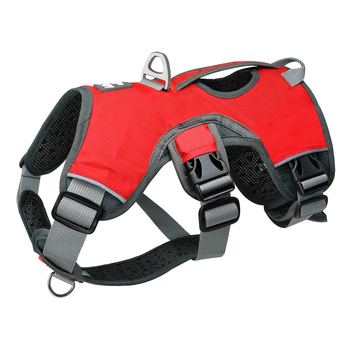 Pet Dog Harness For Big Large Dogs Vest Adjustable Strong Outdoor Reflective Harness Service Dog Supplies Accessories Products 1