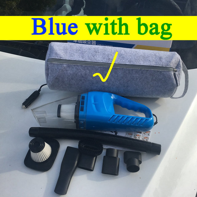 Blue WITH bag