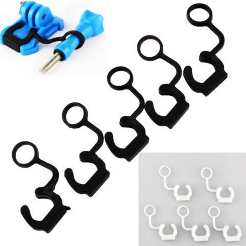 5pcs Black Soft Silicone Rubber Lock Plug Silicone Shackle Lock Catches Anti-drop Buckle For GoPro Hero 3 Accessories #25pcs Black Soft Silicone Rubber Lock Plug Silicone Shackle Lock Catches Anti-drop Buckle For GoPro Hero 3 Accessories #2