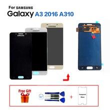 Для samsung Galaxy A3 2016 A310 SM-A310F Дисплей ЖК-дисплей Экран Замена для samsung SM-A310M A310Y ЖК-дисплей модуль экрана дисплея