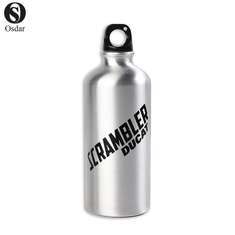 For Ducati Scrambler Aluminum Bottle Novelty Bottle Liter Bottle Flasche Trinkflasche 0.75L