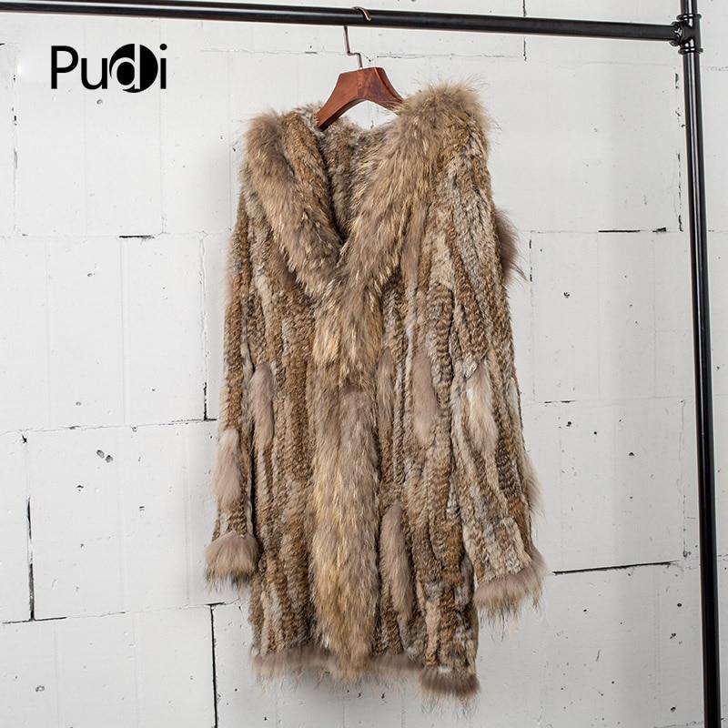 Vêtement Fourrure De black Et Réel Pardessus Col Manteau 80 Ct7010 Laveur Longueur Lapin Vestes Raton Femmes Cm Natural Tricoté Genuinereal Brown oeWQdErCxB