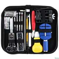 147Pcs watch maintenance kit case chain opener spring strip remover TAB opener remove spring rod repair tool parts