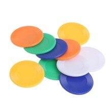 10 шт./компл. высокое качество PS пластиковые фишки маджонг аксессуары чип Подсолнух игра валюта