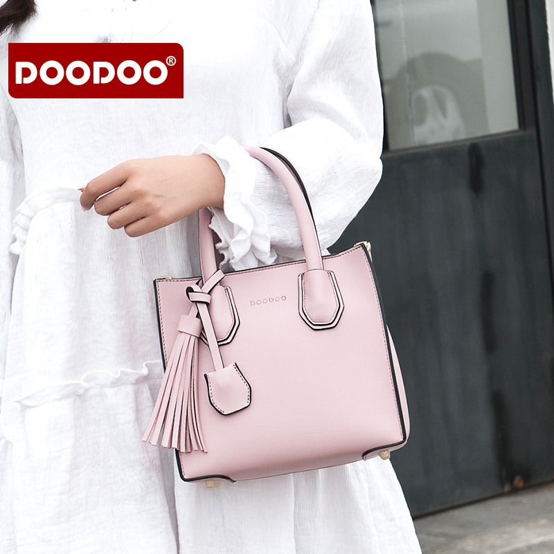 Woman Bag 2018 Luxury Brand Designer Genuine Leather Handbags Tassel Fashion Womens Shoulder Bags For Women Crossbody Bag N270