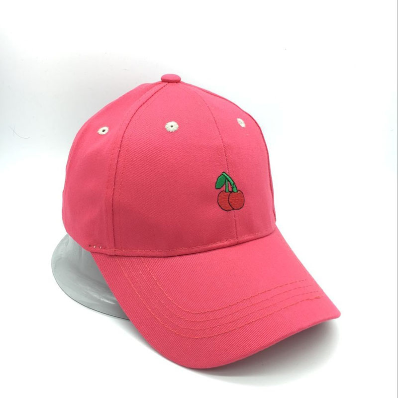 b2cd48a3e US $5.17 40% OFF|Ymsaid New Arrival Spring Leisure Fresh Fruit Embroidery  Hat Strawberry Banana Cherry Orange Peach Baseball Cap For Women-in Men's  ...