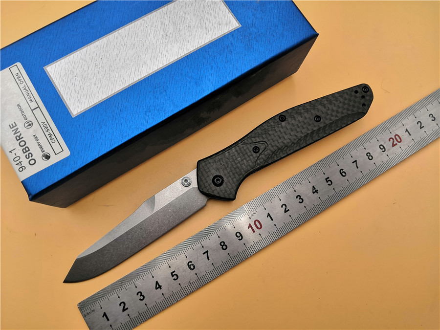 KESIWO OEM BM 940 carbon fiber handle S90v Axis folding knife quality hunting camping Pocket outdoor Survival EDC Tool knives цены