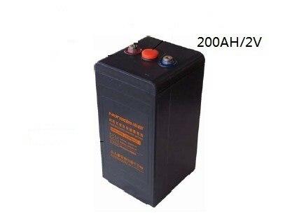 200ah 2v solar battery free maintenance deep cycle agm. Black Bedroom Furniture Sets. Home Design Ideas