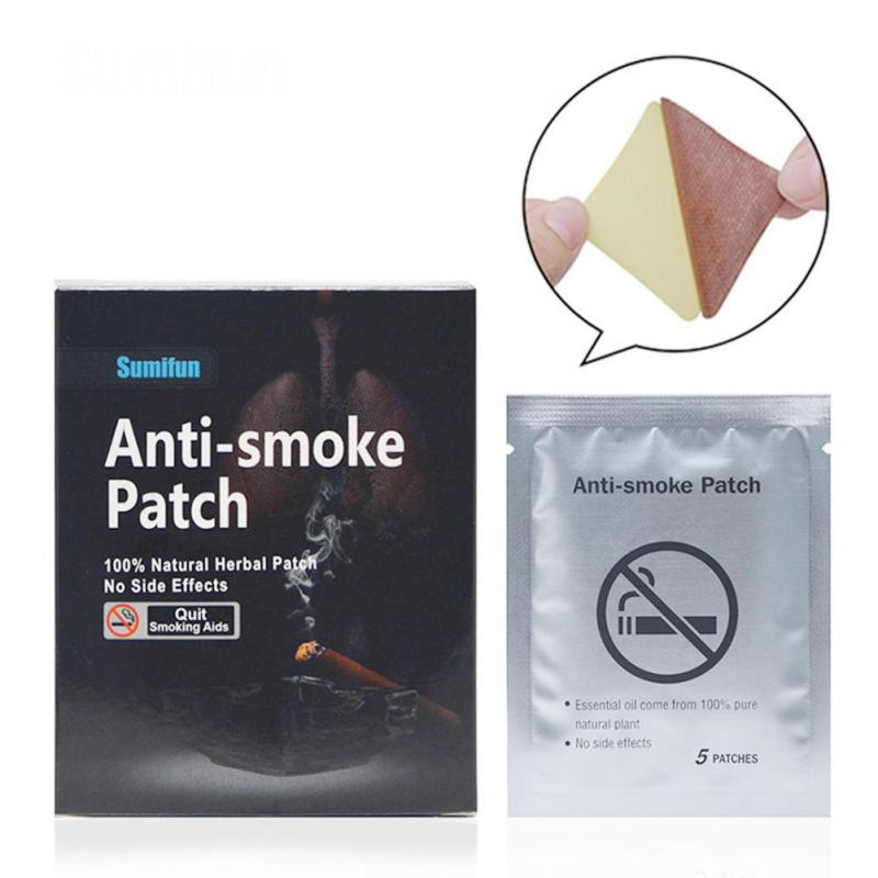 35 Pcs Stop Smoking Patches Quit Smoking Plasters Cessation Patch Relaxation Rehabilitation Therapy Supplies U3