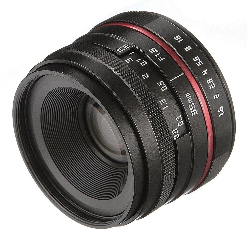 Objectif principal MF 35mm F/1.6 à mise au point manuelle pour appareil photo sans miroir à monture EF-M Canon M5 M50 M6 M10 M100