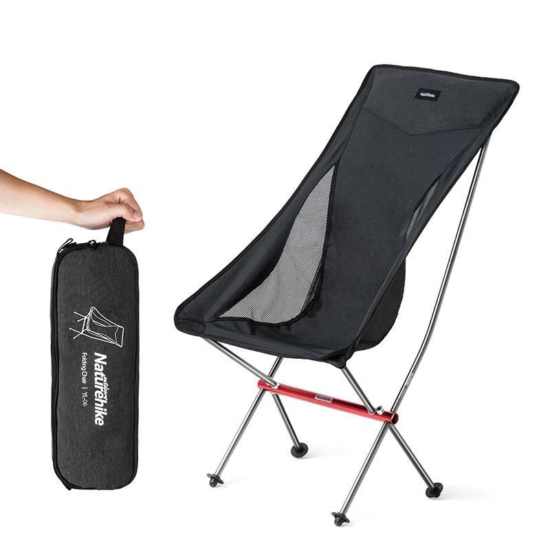 Naturehike Portable Ultra-Léger Pliable Lune Loisirs chaise de camping Pour En Plein Air Randonnée Voyage Pique-Nique BARBECUE sur la Plage De Pêche