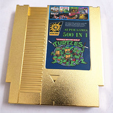 Gold plated version Shell 500 in 1 Game Cart, 72 Pins Game C