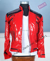 New HIGH-QUALITY BEAIT IT JACKET MJ Costume Beat It Leather Jacket