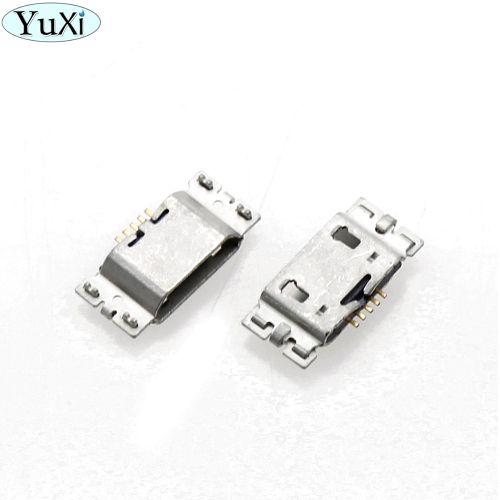 YuXi 100pcs/lot Micro <font><b>USB</b></font> Charging Port Jack Connector 5Pin For Asus <font><b>ZenFone</b></font> <font><b>Go</b></font> TV <font><b>ZB551KL</b></font> X013D ZB452KL X014D image