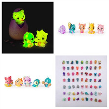 Random Magic Surprise Hatching Season12345 Hatch Animal Add Crack Grow Egg Glow In Dark Toy Action Figure Doll Gift for Children цены онлайн