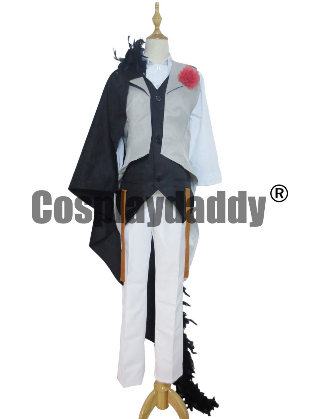 VOCALOID The Lost Memory KAITO Cosplay Costume