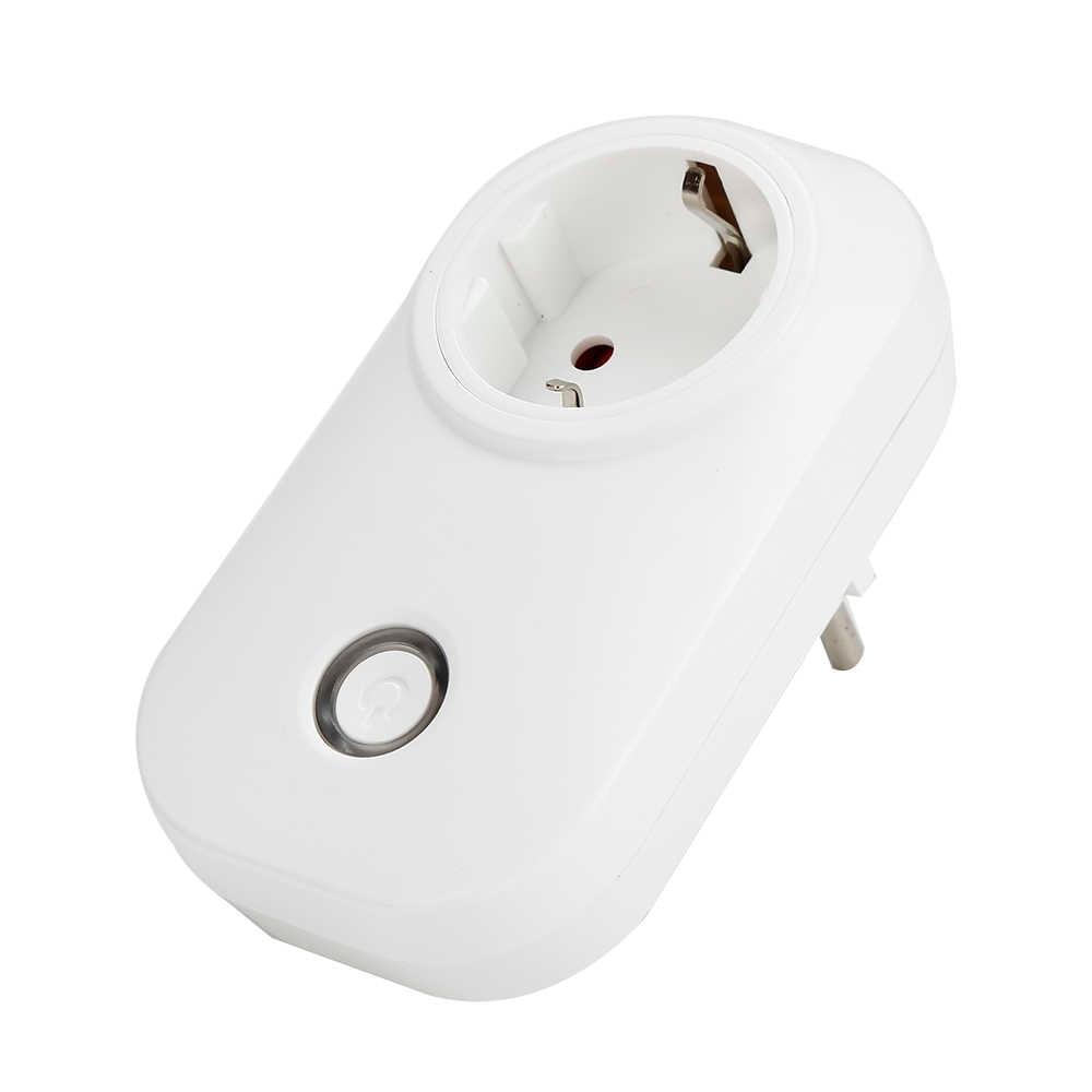 ITEAD Sonoff S20 WIFI bezprzewodowy zewnętrzne gniazdo sterujące inteligentny inteligentna wtyczka zegar gniazdo zasilania inteligentny dom ue/US/UK wtyczka gniazdo