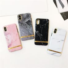 UXIA Fashion Soft IMD Phone Case For iphone X Granite Marble Stone Painted Back Cover Funny Letter Print Cases iphoneX