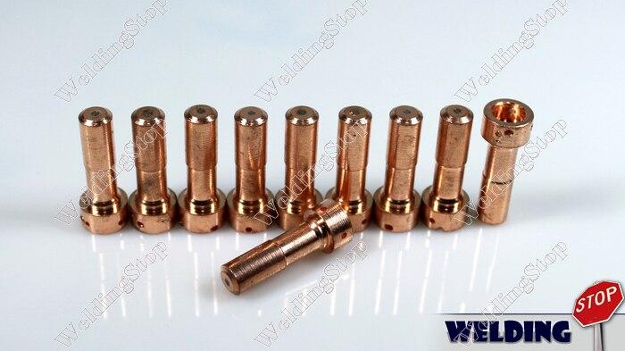 Plasma Cutting Consumables 33366 Electrodes 10pcs Package For Esab/L-TEC PT-23&27
