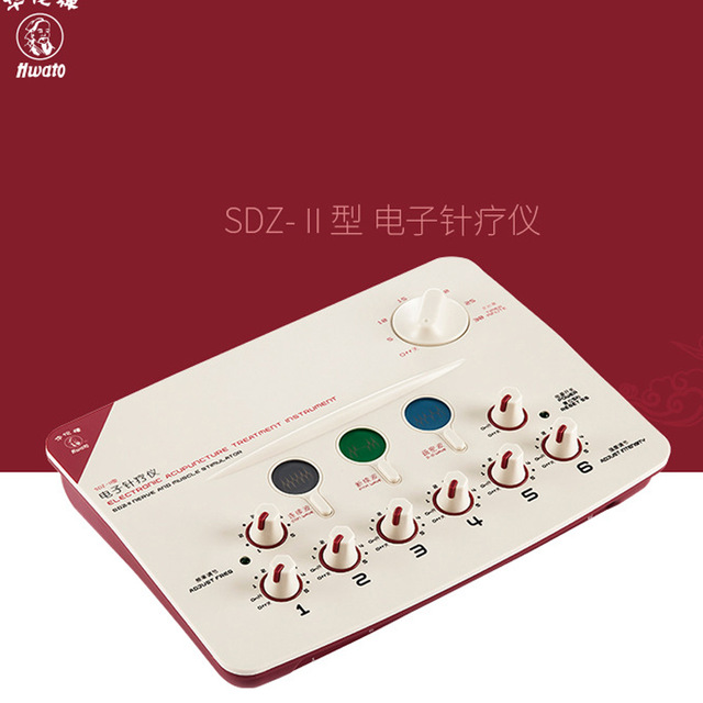 Hwato SDZ-II therapeutic massage Nerve and Muscle Stimulator massager electronic pulse needle Set hwato sdz ii therapeutic massage nerve and muscle stimulator massager electronic pulse needle set