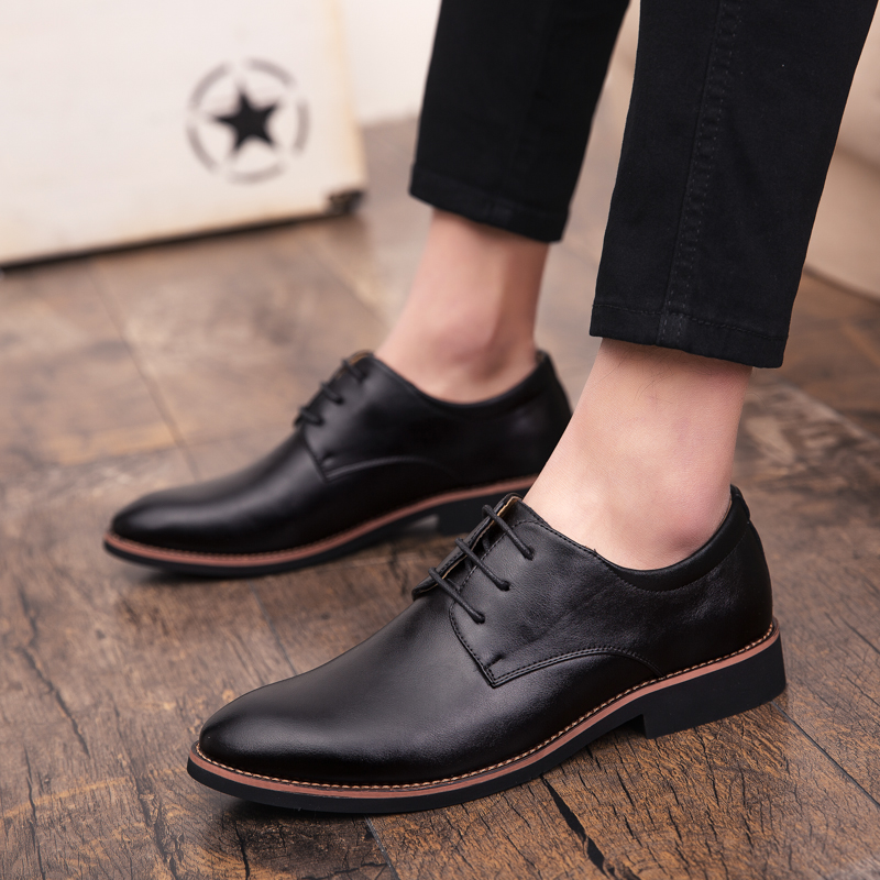 2019 fashion men casual shoes outdoor new spring men flats lace up male   suede     leather   oxfords men shoes zapatillas hombre p4
