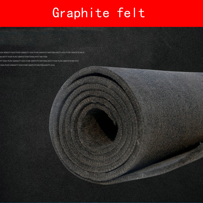 Soft Carbon Graphite Felt PAN-based Good Electrical Thin Sheet High Pure Carbon Graphite Industrial Grade Flexible Electrode 300x300x0 025mm high heat conducting graphite sheets flexible graphite paper thermal dissipation graphene for cpu gpu vga