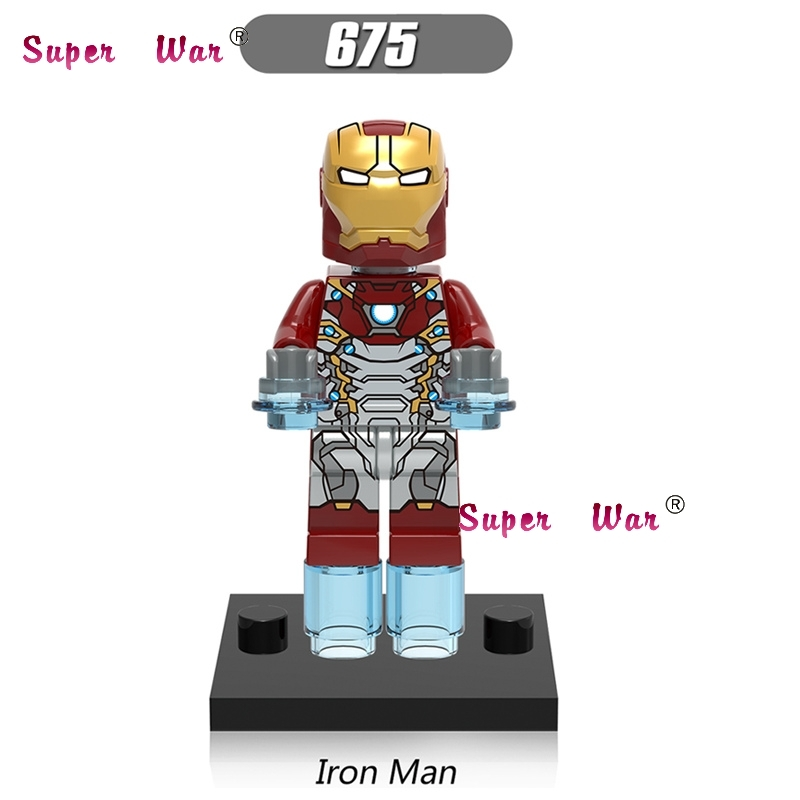 50pcs super heroes model Marvel Marvel Spider Man Homecoming Iron Man building block for house games
