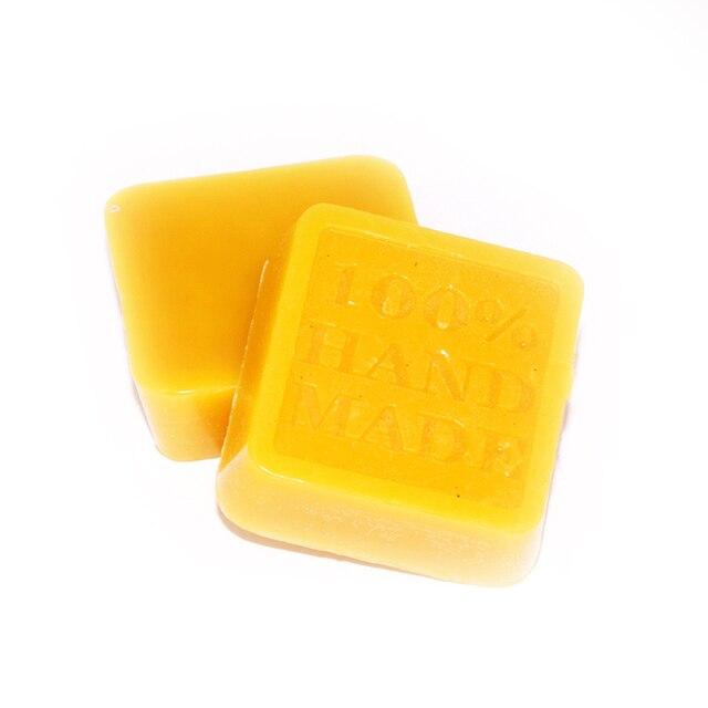 1 Pc אורגני טבעי טהור צהוב שעוות דבורים רצפת מלוטש שעוות דבורים דבורת שעווה שעוות תחזוקה קוסמטי להגן על ריהוט עץ על 42 גרם