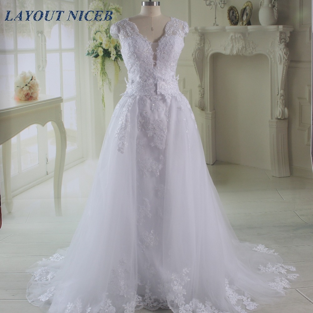 Aliexpress.com : Buy White Elegant Vestido De Noiva Long