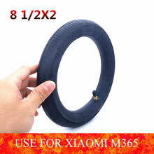 Upgraded Xiaomi M365 Electric Scooter Tires 8 1/2x2 Inflation Wheel Tyres For Xiaomi Scooter m365 & pro Inner Tube Tyre Thicker scooter tyre xiaomi mini scooter tyres 90 65 6 5 off road tubeless vacuum tyre tires for xiaomi mini pro balance scooter upgrade