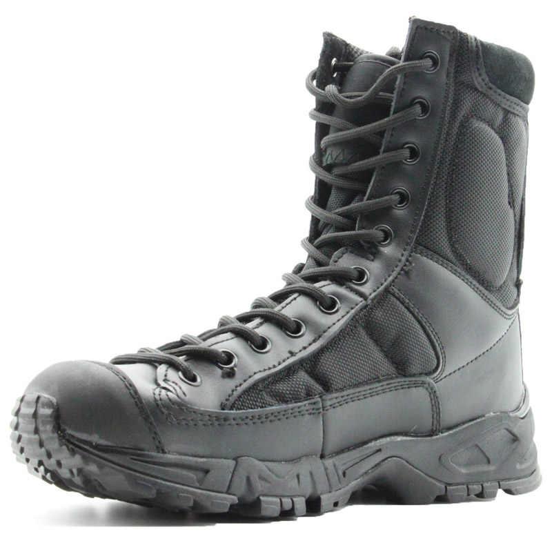 Outdoor Herren Wandern Stiefel Frauen Militärische Taktische Armee Schuhe Zapatos Trekking Hombre Jagd Combat Schuhe Mountain Klettern