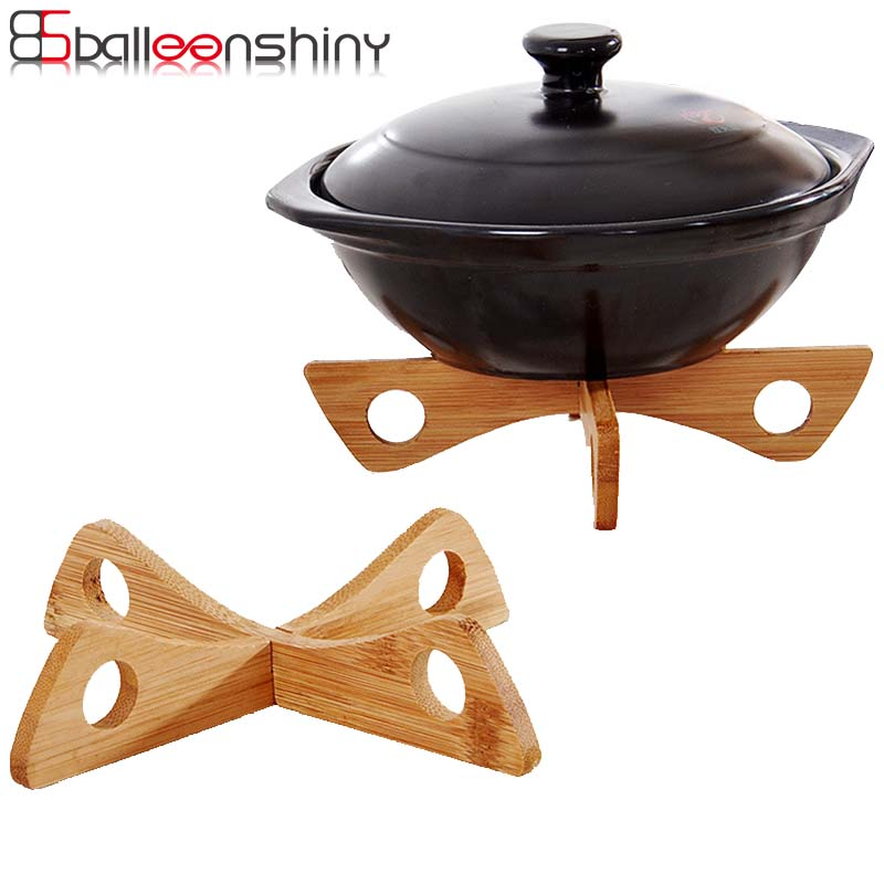 Ballenshiny Placemats Steam Tray Rack Detachable Wood