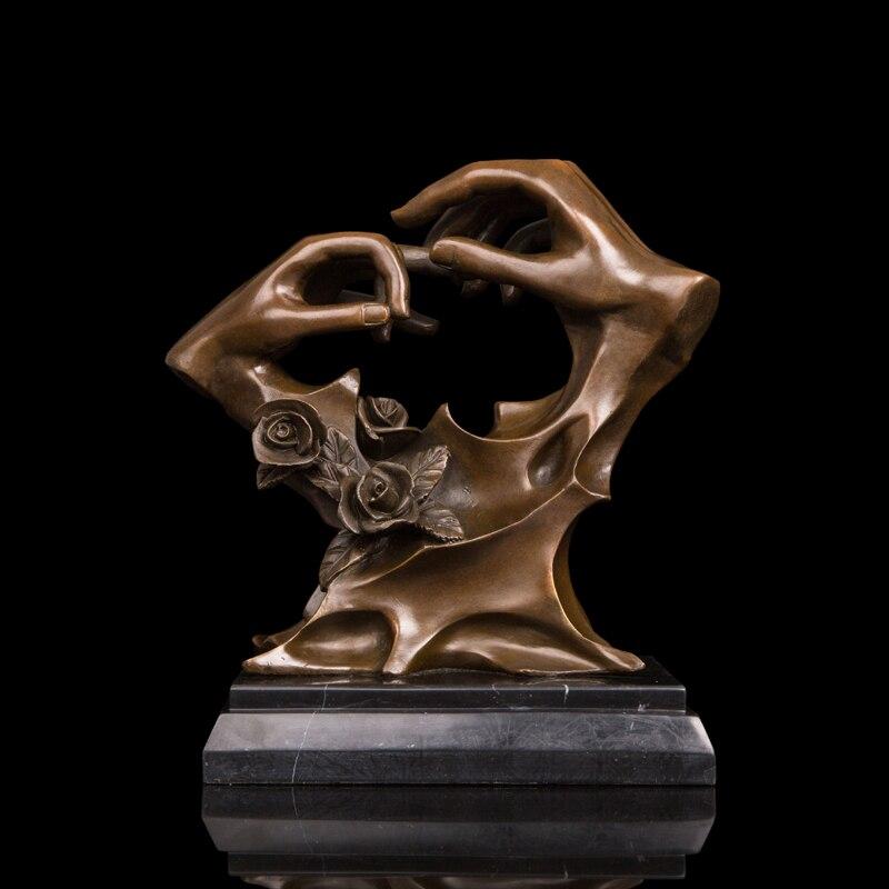 ATLIE BRONZES Arts Abstract Statue Bronze Art Crafts