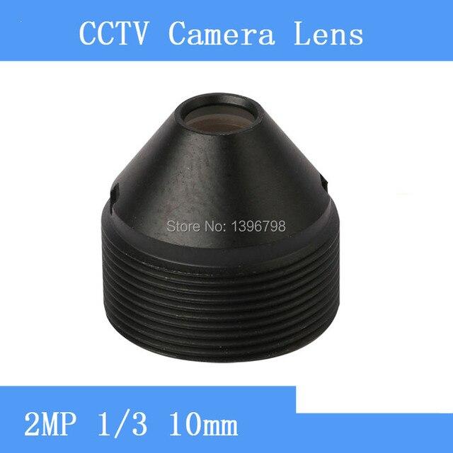 PUAimetis fabrika doğrudan HD 2MP gözetim kızılötesi kamera lens 10mm M12 iplik CCTV lens