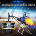 Gleagle 9CH 480N combustible RC RTF helicóptero W / funda protectora mano 15 motor RC helicóptero Nitro DFC 60A cuerpo de fibra de carbono )