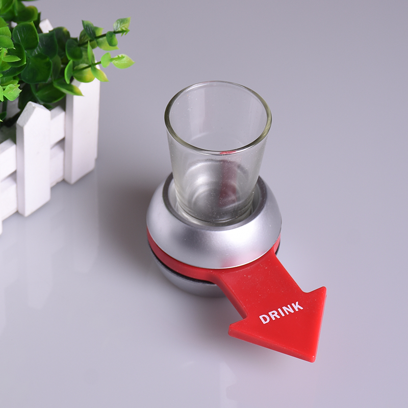 Spin The Shot Glass Drinking Game Drinking Game Shot Glass Bar Games